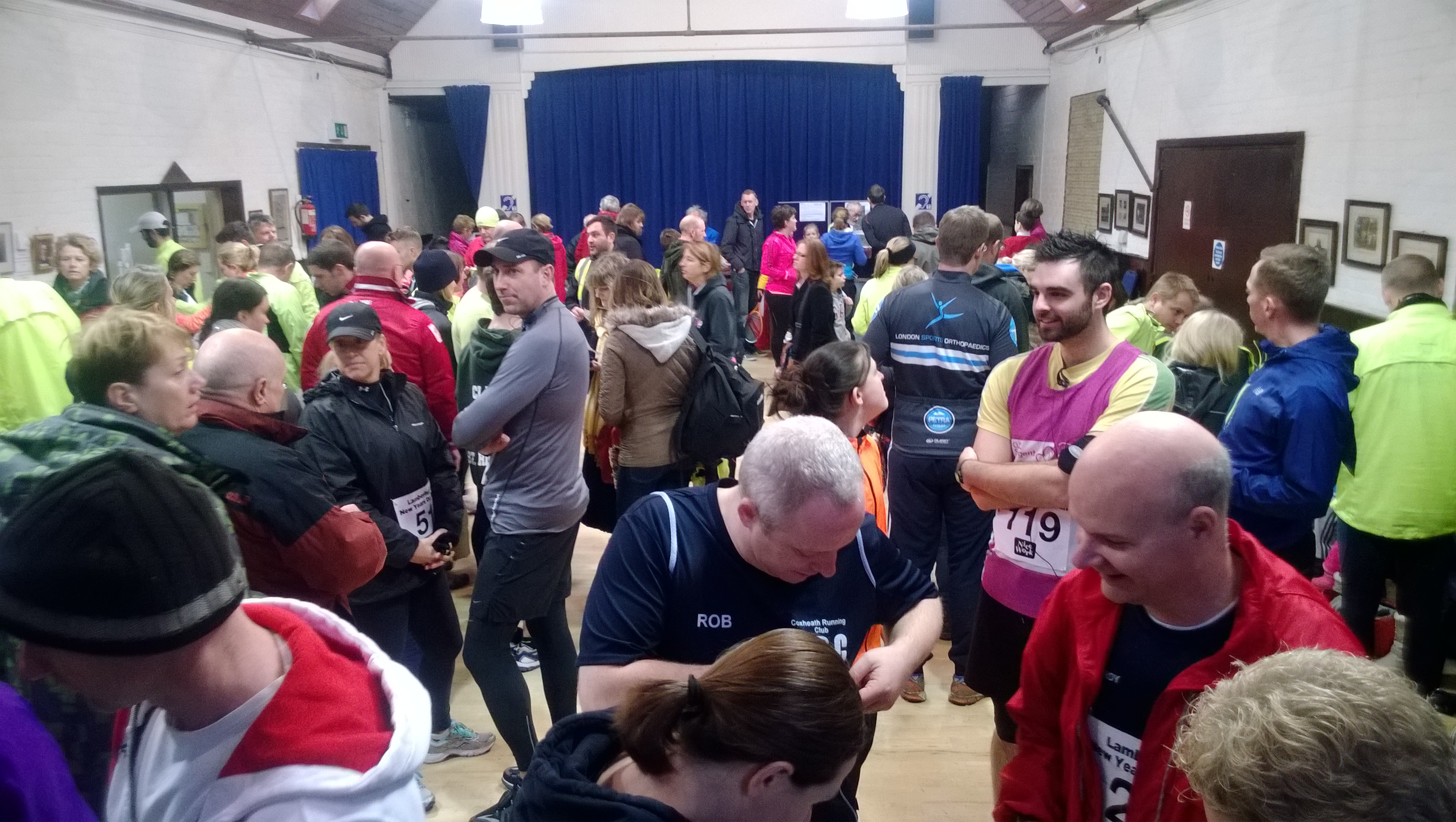 Lamberhurst New Years Day kids 1k run and adults 5k and ...